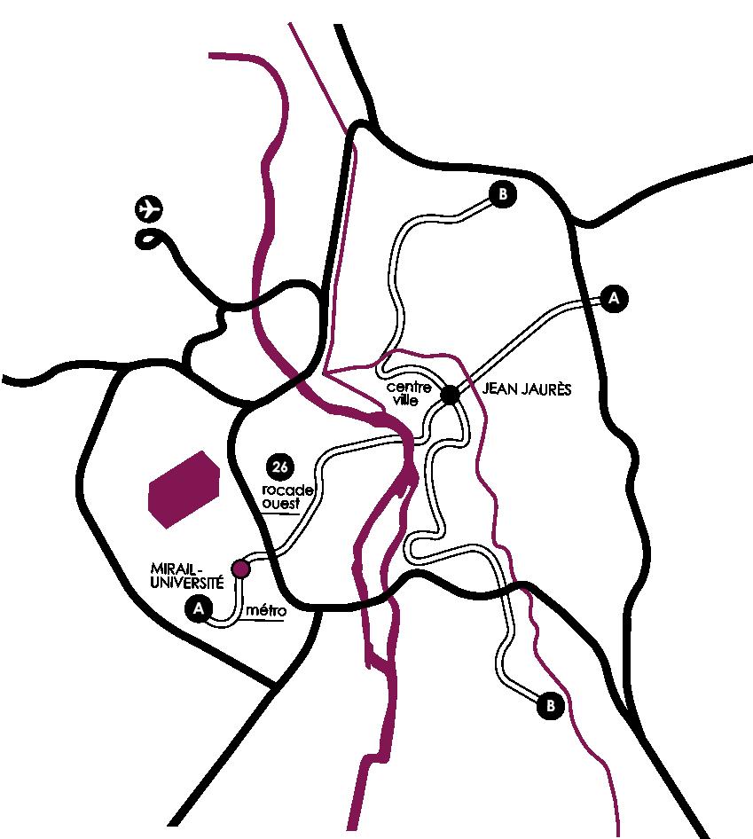 Plan accès La Fabrique