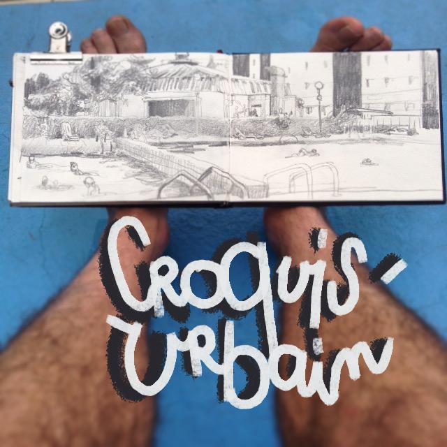 Photo Quertelet croquis urbain