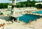 Une piscine à Madrid