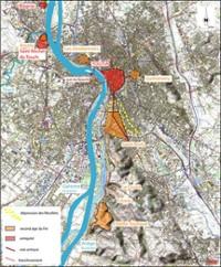 Localisation des occupations gauloises et romaines autour de Tou